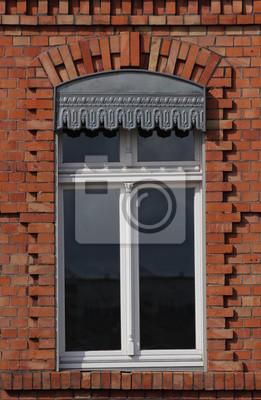 Ein Fenster in Greifswald, Backsteingotik