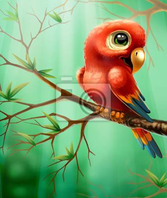 ein Papagei