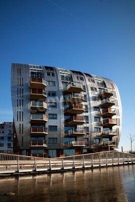 Fototapete Ein Schones Beispiel Fur Moderne Architektur In S Hertogenbosch