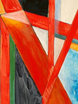Fototapete eine abstrakte Malerei