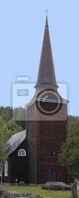 Eine Holzkirche in Värmland, Schweden