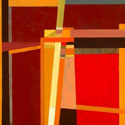 Fototapete eine modernistische abstrakte Malerei