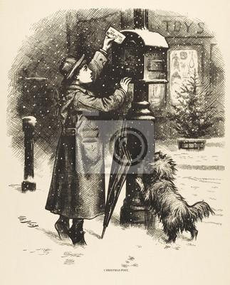 Einen Brief Schreiben Datum Um 1870 Fototapete Fototapeten 1870