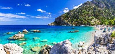 Fototapete Einer der schönsten Strände Griechenlands - Apella, Karpathos