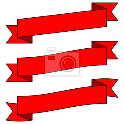 Einstellbare Red Banners