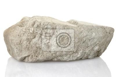 einzigen stein mit Clipping-Pfad