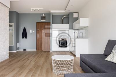 Einzimmerwohnung mit kleiner küche fototapete • fototapeten ...