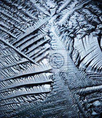 Fototapete Eis Hintergrund mikroskopische