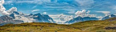Fototapete Eisfeld-Park-Gletscheransichtpanorama