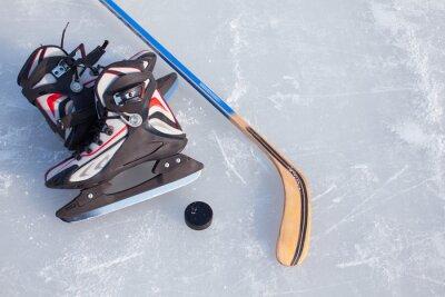 Fototapete Eishockey.