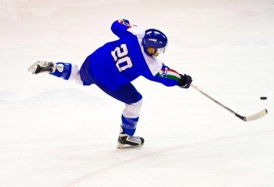 Fototapete Eishockeyspieler