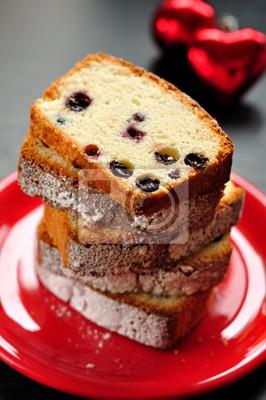 Eiweiss Kuchen Mit Beeren Fototapete Fototapeten Obstkuchen Stuck