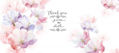 Fototapete Elegant rose flower