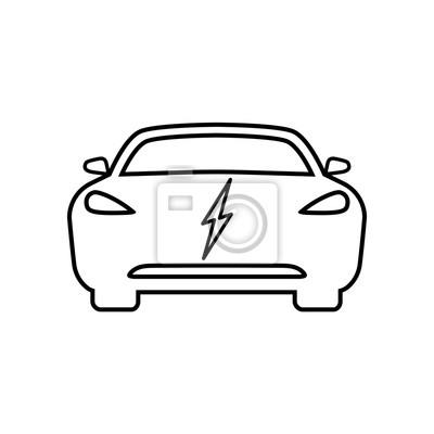 Beste Elektrische Symbole Des Autos Zeitgenössisch - Elektrische ...