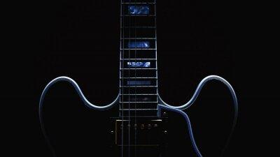 Fototapete Elektrische Gitarre Abstrakt