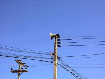 Elektrische Mast