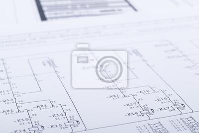 Elektrische schaltpläne fototapete • fototapeten Diode, Gestaltung ...