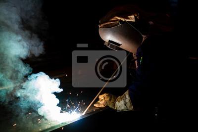 Elektro-Schweißgerät Schweißen von Metall