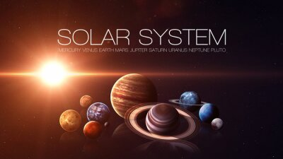 Fototapete Elemente dieses Bildes von der NASA eingerichtet