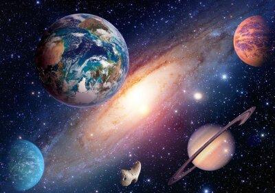 Fototapete Elemente dieses Bildes von der NASA eingerichtet.
