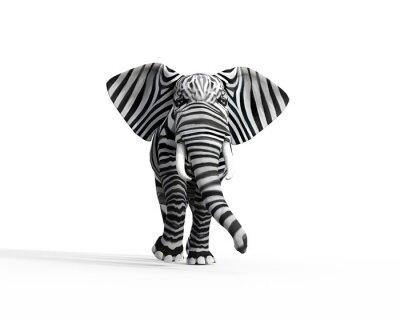 Fototapete Elephant be different