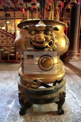 encensoir, Man Mo Tempel