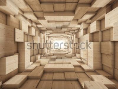 Fototapete Ende des Tunnels