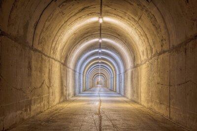 Fototapete Endless Tunnel