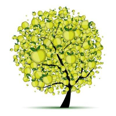 Energie Apfelbaum für Ihr Design
