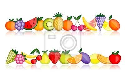 Energie Früchte. Vektor-Sammlung für Ihr Design