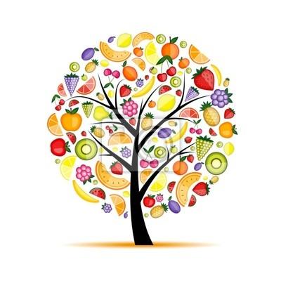 Energie-Obstbaum für Ihr design