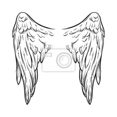 Hintergrund flugel engel