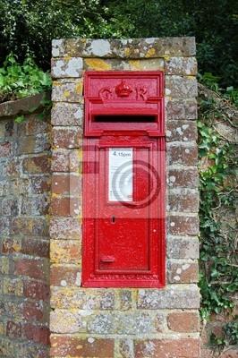 Englisch Briefkasten Fototapete Fototapeten Briefkasten
