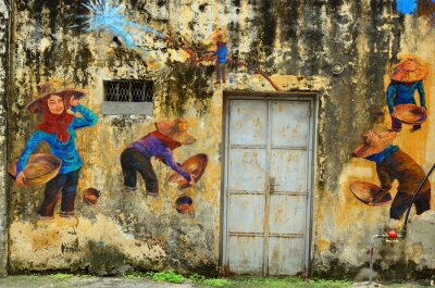 Fototapete Erbe von Ipoh, Malaysia - Ipoh ist eine Stadt in Malaysia, etwa 200km nördlich von Kuala Lumpur ..