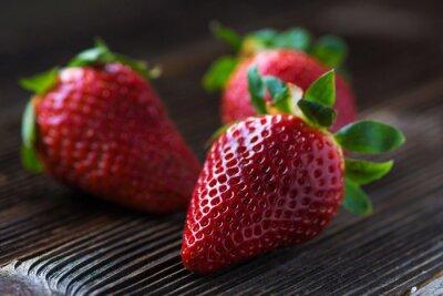 Fototapete Erdbeeren