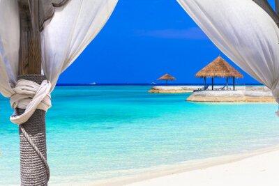 Fototapete Erholsamen Urlaub im tropischen Paradies
