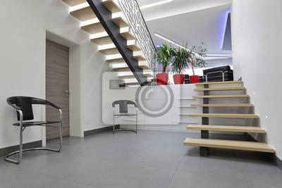 Fototapete: Escalier halle dentrée intérieur maison