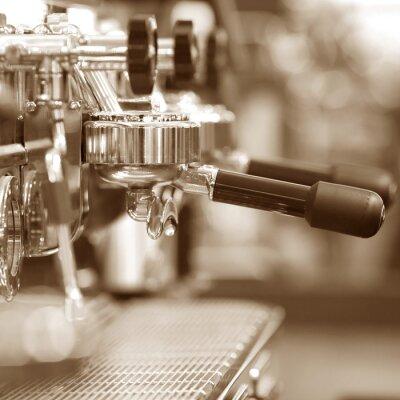 Fototapete Espresso Kaffeemaschine