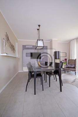 Fototapete Essecke Im Wohnzimmer
