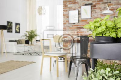 fototapete esszimmer, esszimmer mit kräutern wagen fototapete • fototapeten appartment, Design ideen