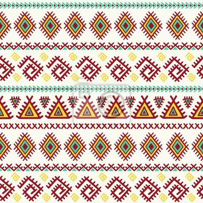 Ethnische nahtlose Muster. Aztec Vektor Textur ideal für Tuch-Design, Tapeten, Textil-, Verpackungs- und andere Muster füllt