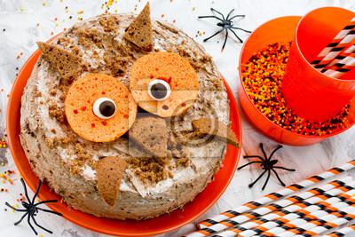 Eule Kuchen Halloween Oder Geburtstagsfeier Dessert Kostliche
