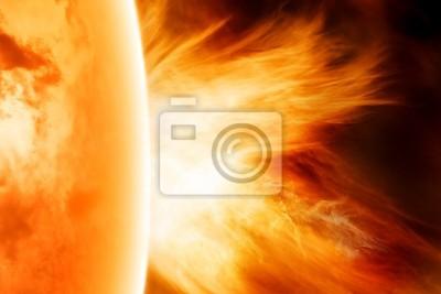 Explosion auf Sonne