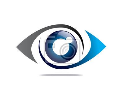 Fototapete eye 1