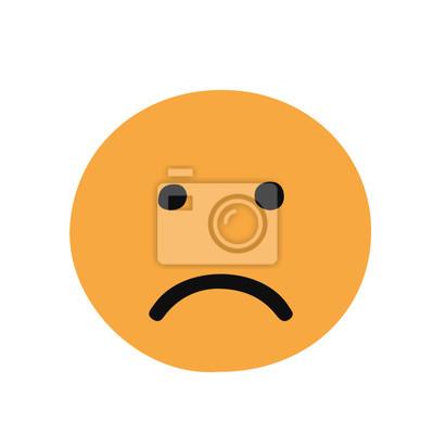 Facebook Trauriges Gesicht Fototapete Fototapeten Emoticons Smily