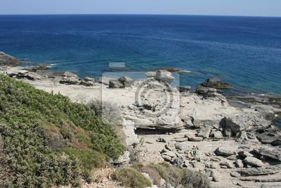 Faliraki Kallitheas Strände Insel Rhodos Griechenland 08 Fototapete
