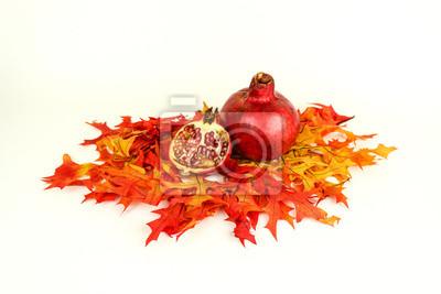 Fall pomegranates