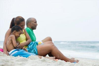Familien nackt strand