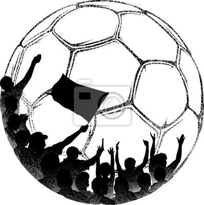 Fans in Soccer Ball