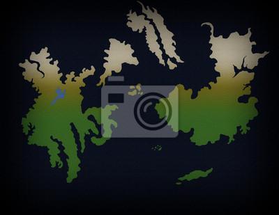 Fantasy World Map 1